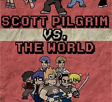 Scott Pilgrim Vs. The World by Rizwanb