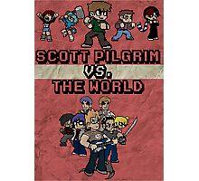 Scott Pilgrim Vs. The World Photographic Print