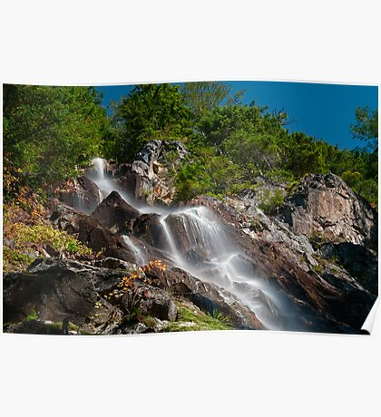 Teneriffe Falls - Snoqualmie National Forest Poster