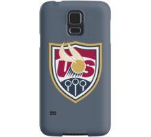 United States of America Quidditch Logo Small Samsung Galaxy Case/Skin