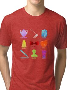 Watercolor Doctor Who Tri-blend T-Shirt