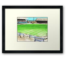 Oldham Athletic - Boundary Park Framed Print