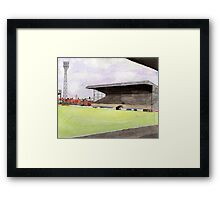 Scunthorpe United - Old Show Ground Framed Print
