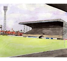Scunthorpe United - Old Show Ground Photographic Print