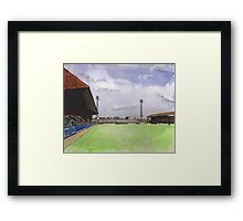 Stockport County - Edgeley Park Framed Print