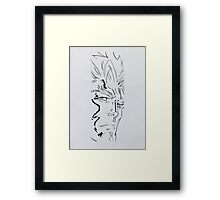 Iceman - Painting Framed Print