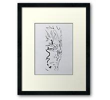 Iceman - Painting Framed Print