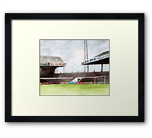Manchester City - Maine Road Framed Print