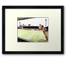 Ipswich Town - Portman Road Framed Print