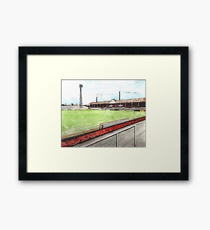 Notts County - Meadow Lane Framed Print