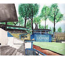 Oxford United - Manor Ground Photographic Print