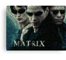 Mosaic: The Matrix Canvas Print