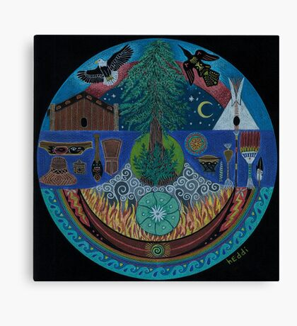 Ancient Spiritual Trade Routes  Canvas Print