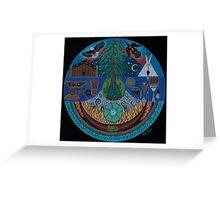 Ancient Spiritual Trade Routes  Greeting Card