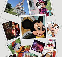 Disneyland Paris - Disney Polaroid by HeloiseDiez