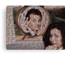 Mosaic: Groundhog Day Canvas Print