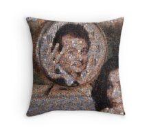 Mosaic: Groundhog Day Throw Pillow