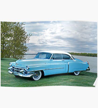 1953 Cadillac Coupe de Ville Poster