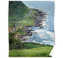 Cape Perpetua, Oregon Coast Poster