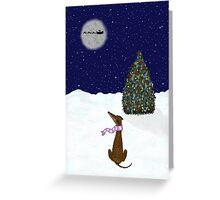 Will Santa Paws Visit Me? Greeting Card