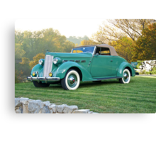 1937 Packard 120 Convertible Coupe Canvas Print