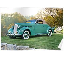 1937 Packard 120 Convertible Coupe Poster