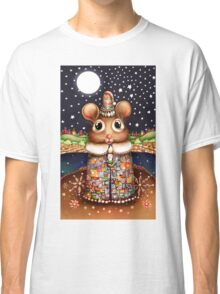 Little Bright Eyes the Radiant Christmas Mouse Classic T-Shirt