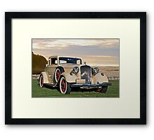 1933 Plymouth PD Convertible Coupe Framed Print