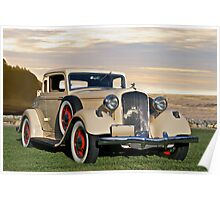 1933 Plymouth PD Convertible Coupe Poster