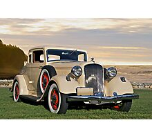 1933 Plymouth PD Convertible Coupe Photographic Print
