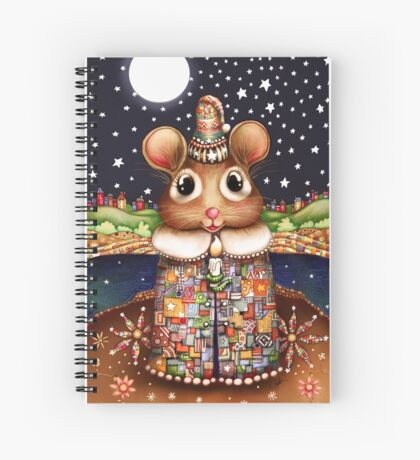 Little Bright Eyes the Radiant Christmas Mouse Spiral Notebook