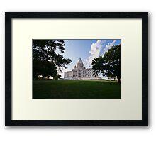 Govern Providence Framed Print