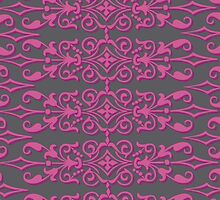 pink and gray designer by ciarramc