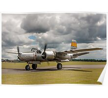 Douglas A-26B Invader 44-34602/S N167B Poster