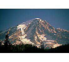 Mount Rainier from Longmire, Washington State Photographic Print