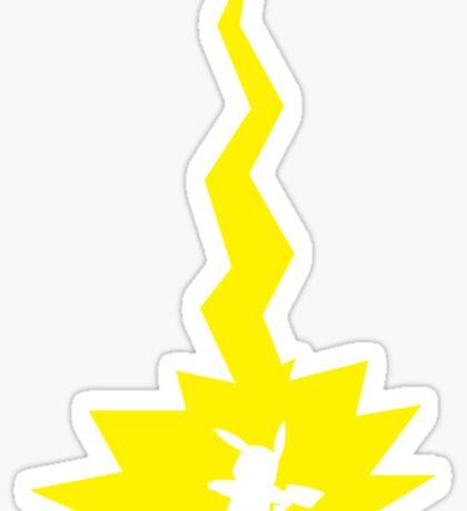 Thunderbolt Sticker