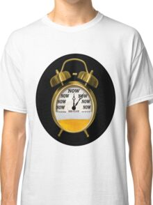 ☝ ☞ ITS NOW -TIME FOR A BEER- WITH- BEER OCLOCK TEE SHIRT ☝ ☞  Classic T-Shirt