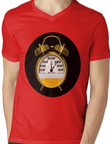 ☝ ☞ ITS NOW -TIME FOR A BEER- WITH- BEER OCLOCK TEE SHIRT ☝ ☞  Mens V-Neck T-Shirt