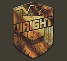 Custom Dredd Badge - (Wright) by CallsignShirts