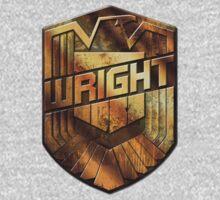 Custom Dredd Badge - (Wright) Kids Clothes