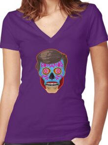 They of the Dead Women's Fitted V-Neck T-Shirt