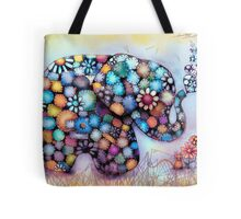 Little Sunshine the Patchwork Elephant Tote Bag