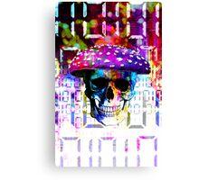 digital mushroom Canvas Print