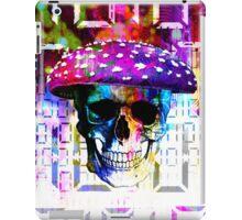 digital mushroom iPad Case/Skin