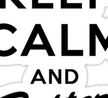 Keep Calm and Better call Saul Sticker