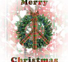 Christmas Peace Wreath by CarolV