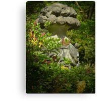 Stonework - Bodnant Gardens, Wales Canvas Print
