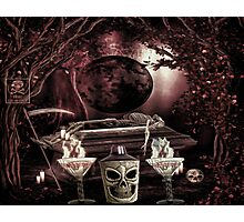 A HALLOWEEN TOAST Photographic Print