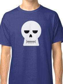 Simplified Skull in Vector Classic T-Shirt