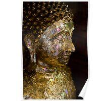 Ayutthaya Buddha #1 Poster